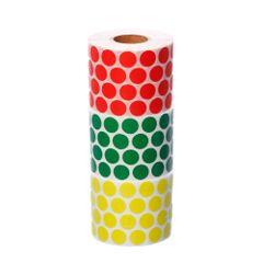 kit-etiquetas-adesivas-de-bolinha-com-as-cores-verde-vermelha-e-amarela