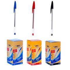 kit-canetas-bic-com-50-unidades-de-canetas-esferografica-bic-azul-50-canetas-bic-vermelha-e-50-canetas-bic-preta