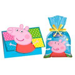kit-saco-brinde-convite-de-aniversario-peppa-com-40-convites-40-sacolas-plastica-descartaveis