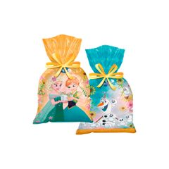 sacola-de-plastico-descartavel-frozen-febre-congelante-pacote-com-8-unidades-regina