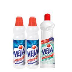 Kit-Limpa-Banheiro-VEJA-com-2-VEJA-Concentrado-Limpeza-Pesada---2-VEJA-Concentrado-Limpeza-Pesada---1-VEJA-X-14-para-Banheiro