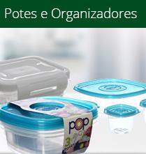Cozinha - Potes e Organizadores