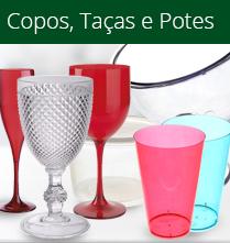 Descartáveis - Copos, Taças e Potes