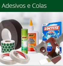 Papelaria - Adesivos e Colas