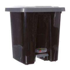 lixeira-quadrada-preta-e-cinza-com-pedal-25-litros-mb