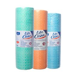 kit-com-3-rolos-de-pano-multiuso-nas-cores-verde-laranja-e-azul-life-clean