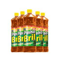kit-5-litros-de-desinfetantes-pinho-bril-silvestre-com-1-litro