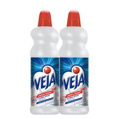 kit-veja-limpeza-pesada-com-2--limpador-concentrado-veja-para-limpeza-pesada-cloro-ativo-2-em-1-com-1-litro