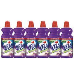 kit-com-6-limpador-veja-perfume-lavanda-bem-estar-diluivel-2-litros