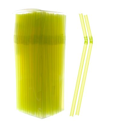 canudo-bicao-neon-amarelo