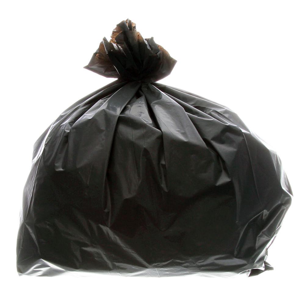 2b18692b4 Saco para Lixo Grosso com Capacidade de 100 Litros Preto Fardo com 5 ...