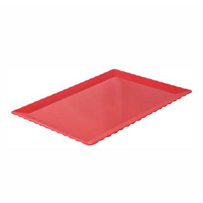 prato-bandeja-retangular-vermelho