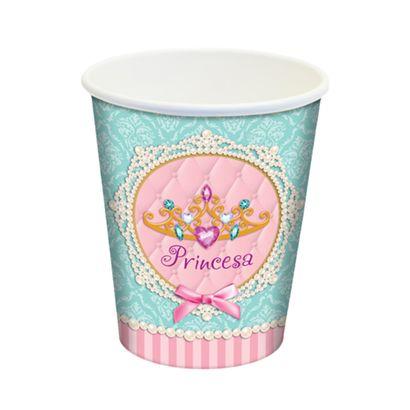 PRINCESA---COPO-DESC.-PAPEL-PRINCESA-180ml-10x08un