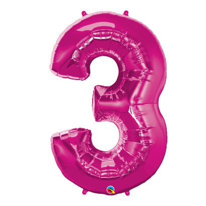 number-3-pink