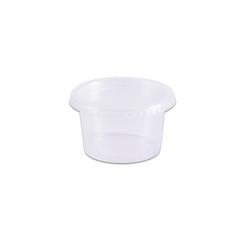 2947d1ae6 Pote de Plástico Descartável Redondo c  Tampa 200ml c  24un Prafesta