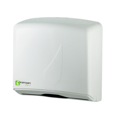 Dispenser-Papel-Toalha-Branco-Fortcom